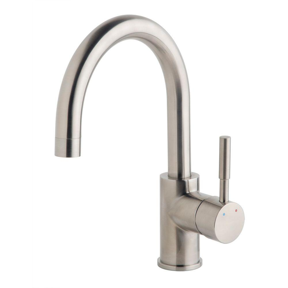 Symmons Dia Single-Handle Bar Faucet in Satin-SPB-3510-STN - The ...