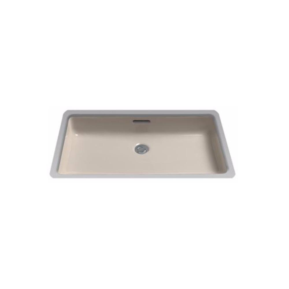 Toto 21 In Rectangular Undermount Bathroom Sink With Cefiontect In Bone Lt191g 03 The Home Depot
