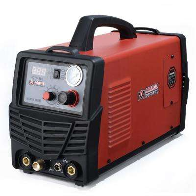 Plasma Cutter/TIG/Stick Arc 3-in-1 Combo DC Welder 40A-Plasma Cutter 180A-TIG-Torch 160A-Stick Arc Welding Machine