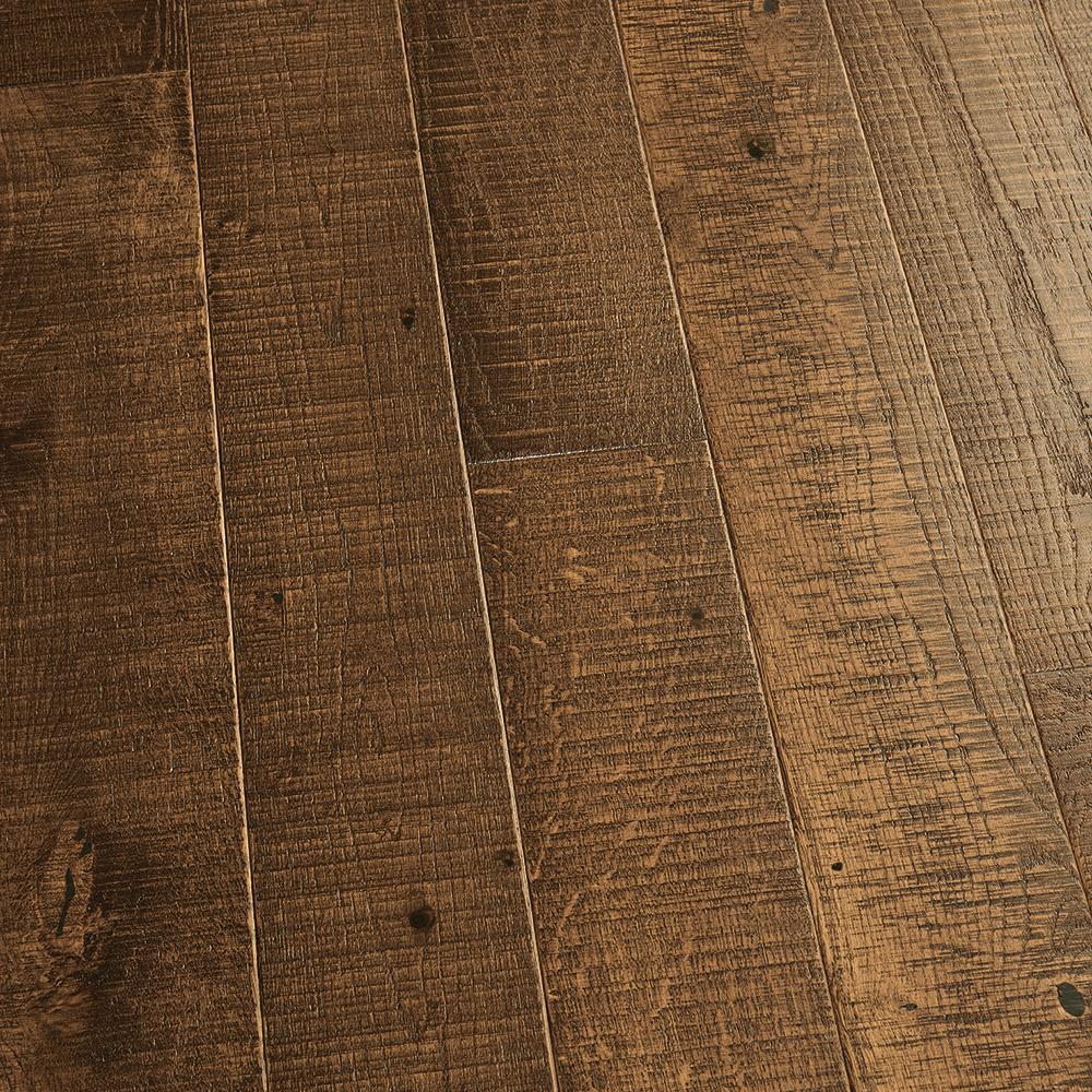 Malibu Wide Plank French Oak Monterey 34 In Thick X 5 In Wide X