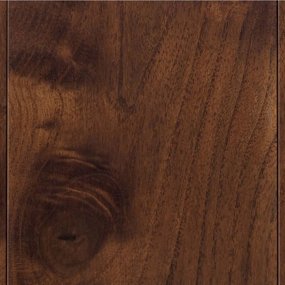 Take Home Sample - Teak Huntington Engineered Hardwood Flooring - 5 in. x 7 in.