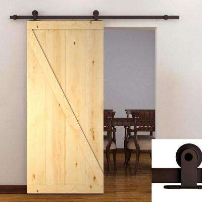 38 x 84 - Wood - Barn Door Kit - Interior & Closet Doors - Doors ...
