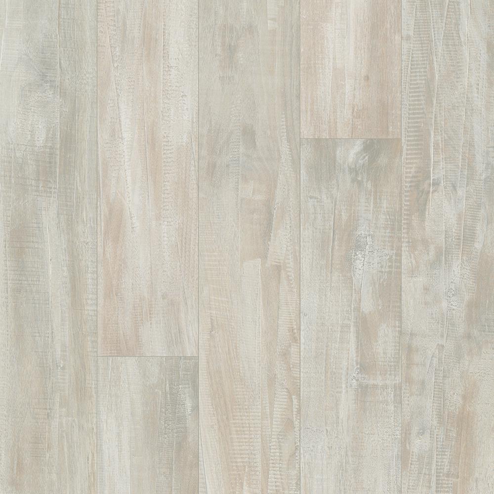 Outlast+ Waterproof Whitewashed Walnut 10 mm T x 5.23 in. W x 47.24 in. L Laminate Flooring (13.74 sq. ft. / case)
