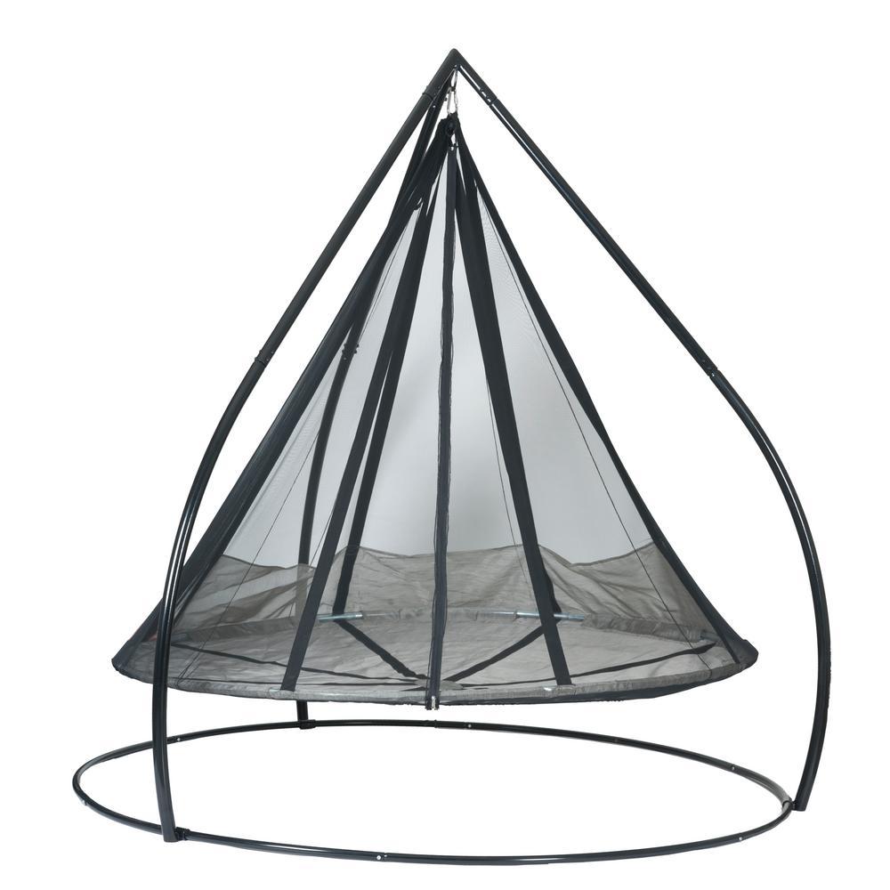 Flowerhouse Flying Saucer Set Metal Patio Swing Fhfssvr Set The