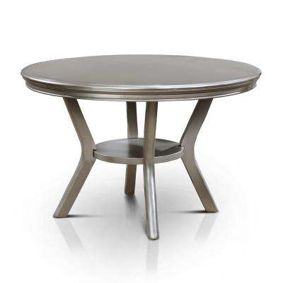 Farben Champagne Round Dining Table