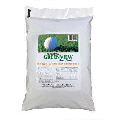 10 lb. Fairway Formula Turf Type Tall Fescue Grass Seed Sun and Shade Blend