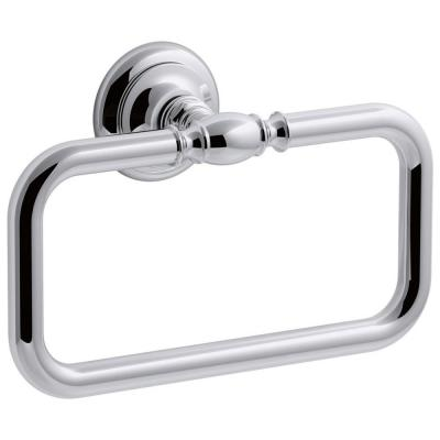 Artifacts Towel Ring in Polished Chrome