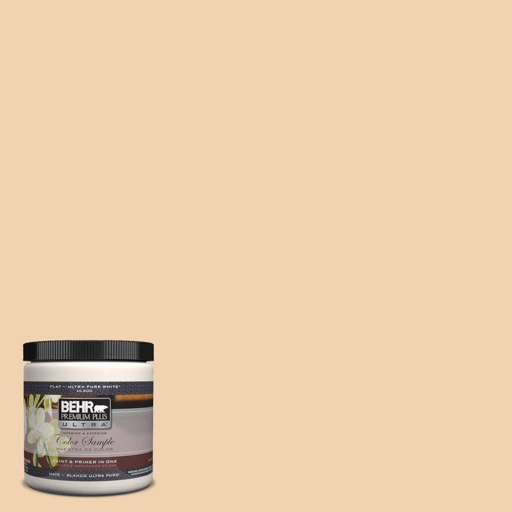 BEHR Premium Plus Ultra 8 oz. #M280-3 Champagne Wishes Interior/Exterior Paint Sample