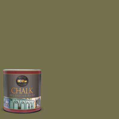 1 qt. #S350-6 Truly Olive Interior Chalk Decorative Paint