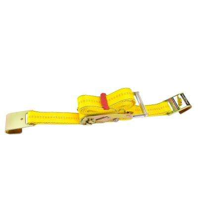 30 ft. x 2 in. Ratchet Tie-Down with Flat Hook