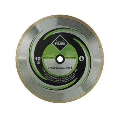 10 in. Porcelain Diamond Blade