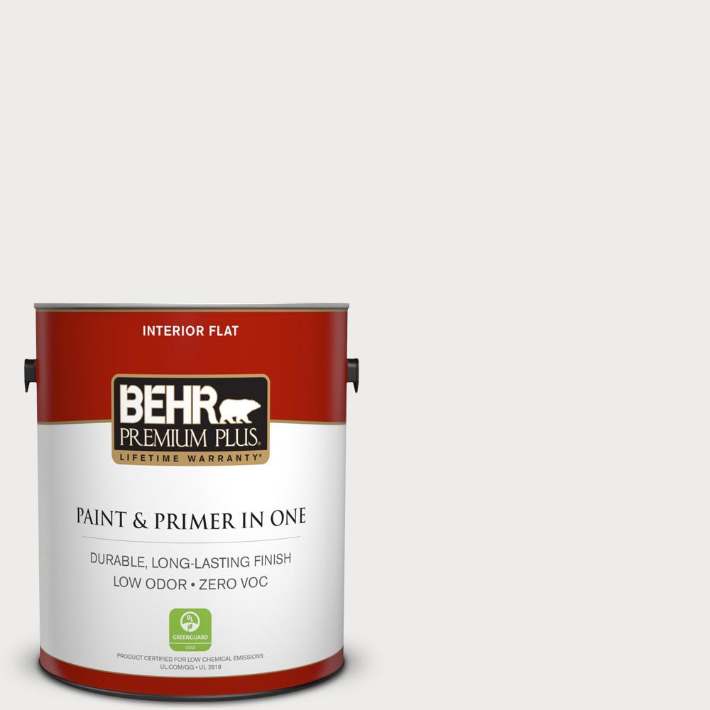 BEHR Premium Plus 1-gal. #PPL-34 Floral Scent Zero VOC Flat Interior Paint