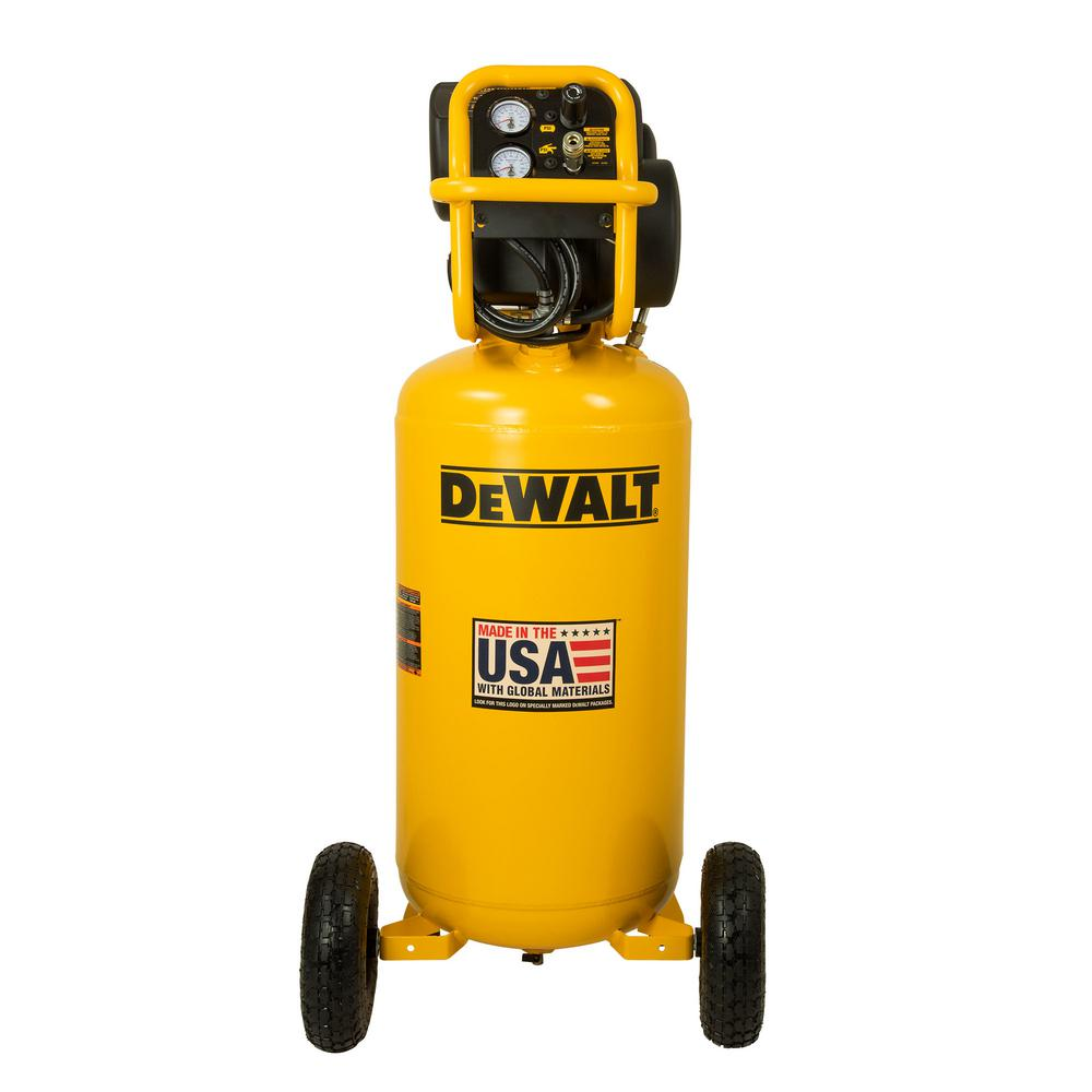 DEWALT 27 gal  200 PSI Portable Vertical Electric Air Compressor