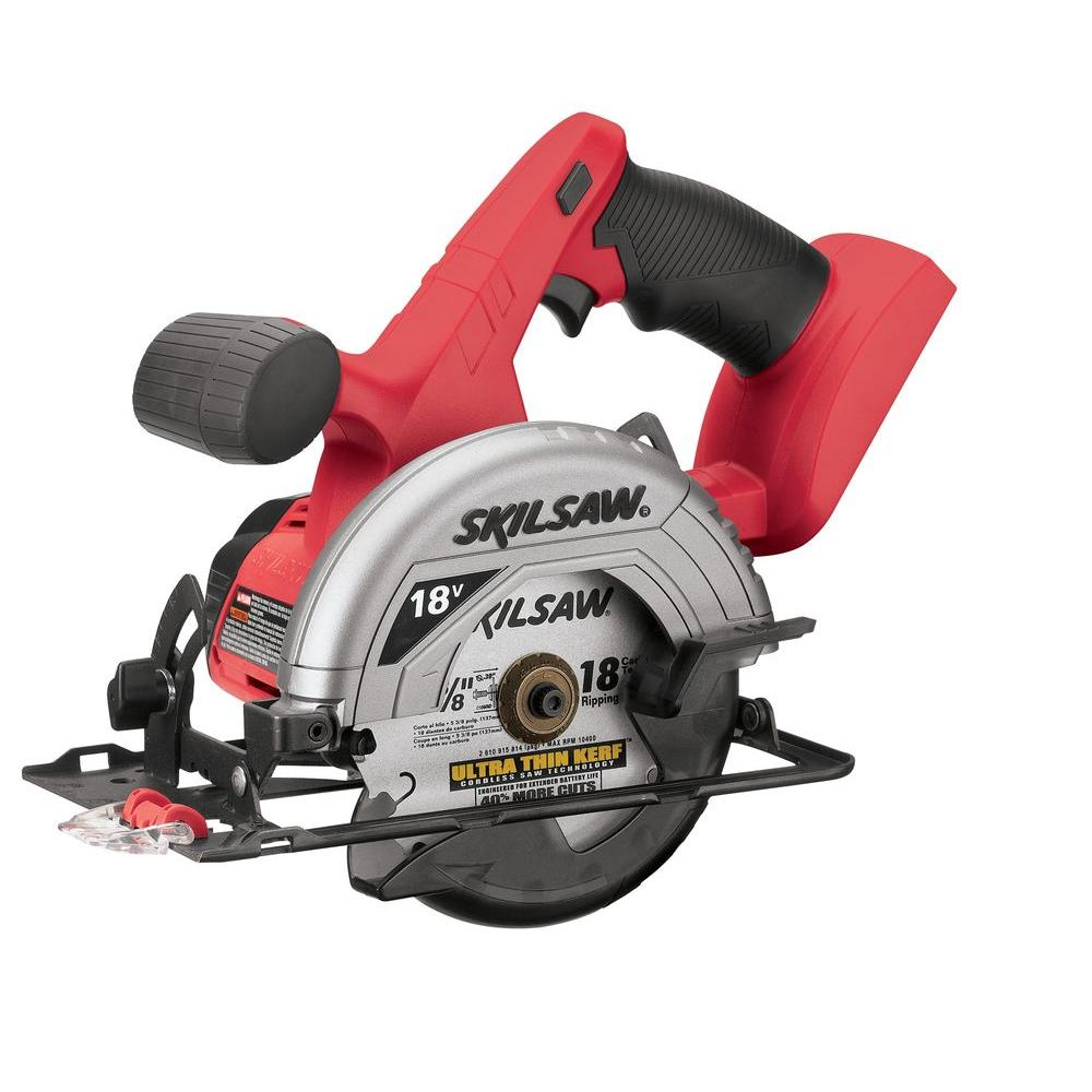 Skil Factory Reconditioned Ni-Cad Cordless Electric 5-3/8 in. Circular Saw with Blade (Tool-Only)