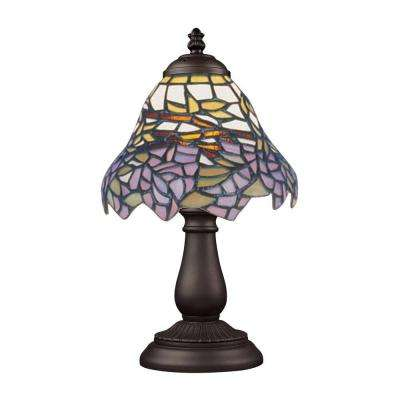13 in. Tiffany Bronze Table Lamp