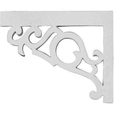 3/4 in. x 8-3/4 in. x 7-1/8 in. Polyurethane Left Victorian Stair Bracket