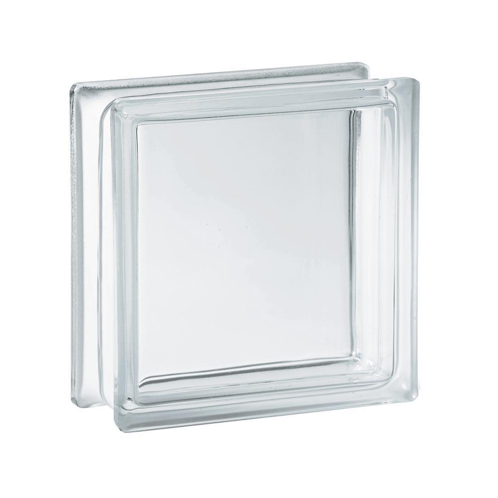 5.75 in. x 5.75 in. x 3.12 in. Clear Pattern Glass