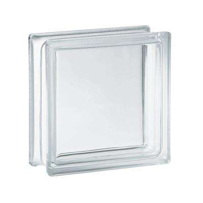 5.75 in. x 5.75 in. x 3.12 in. Clear Pattern Glass Block (10-Pack)