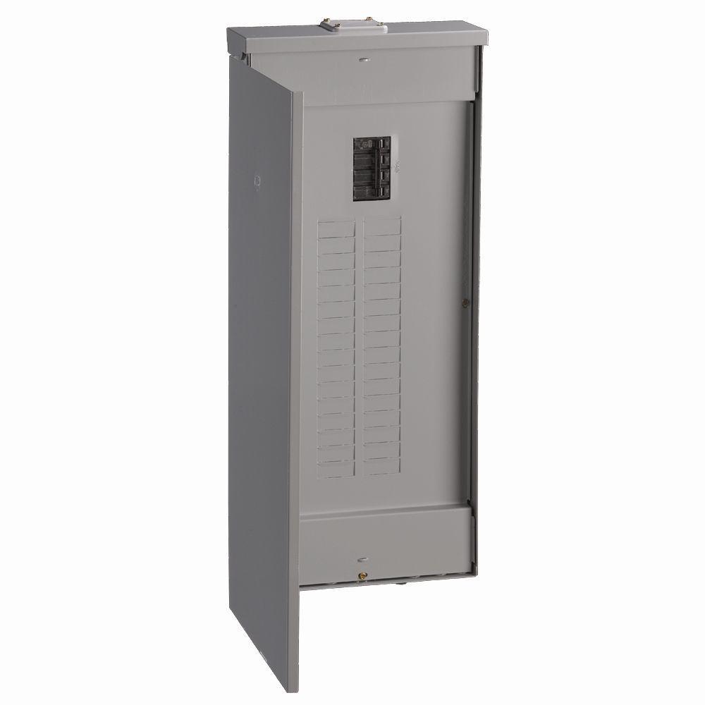 PowerMark Gold 200 Amp 32-Space 40-Circuit Outdoor Main Breaker Circuit Breaker Panel
