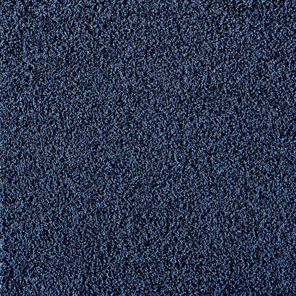 FLOR In The Deep Cobalt 19.7 in. x 19.7 in. Carpet Tile (6 Tiles/Case)