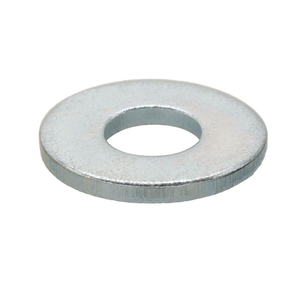 Everbilt #8 Zinc-Plated Flat Washer (100 per Pack)-800432 - The Home ...