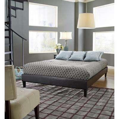 Fairview Twin Faux Leather Upholstered Bed