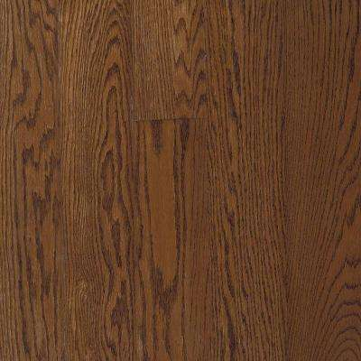 Bayport Oak Saddle Solid Hardwood Flooring - 5 in. x 7 in. Take Home Sample