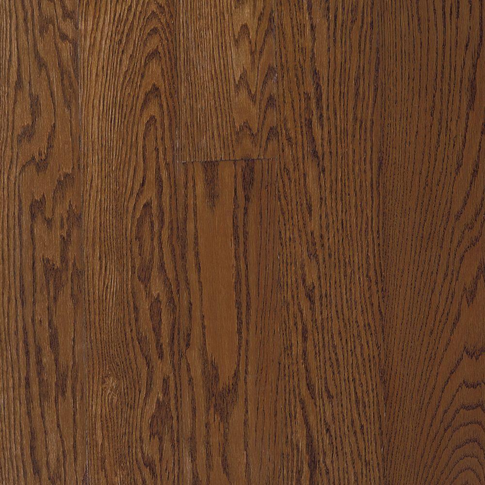 Bruce bayport oak saddle solid hardwood flooring 5 in x for Bruce wood flooring
