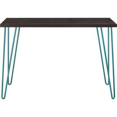 Montrose Espresso/Teal Retro Desk