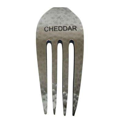 Rustic Cheddar Cheese Fork Marker