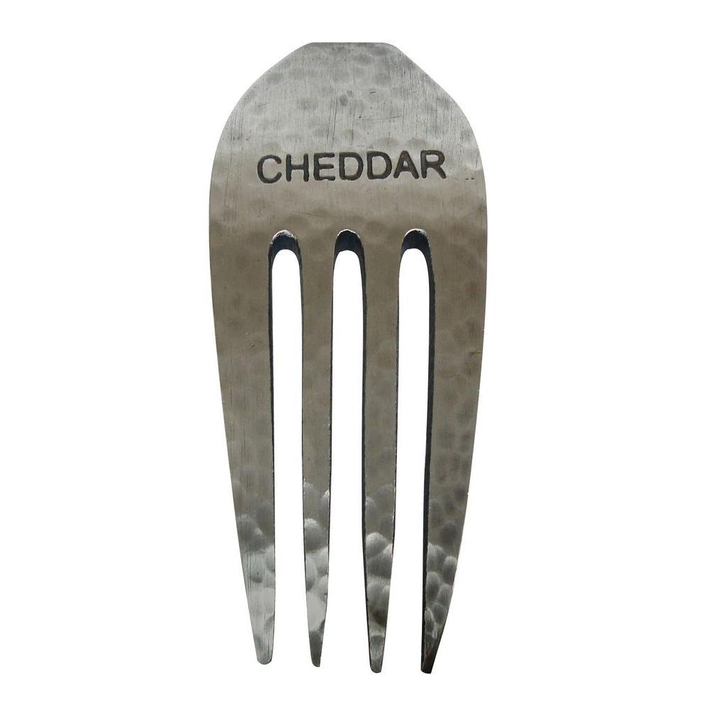 Epicureanist Rustic Cheddar Cheese Fork Marker