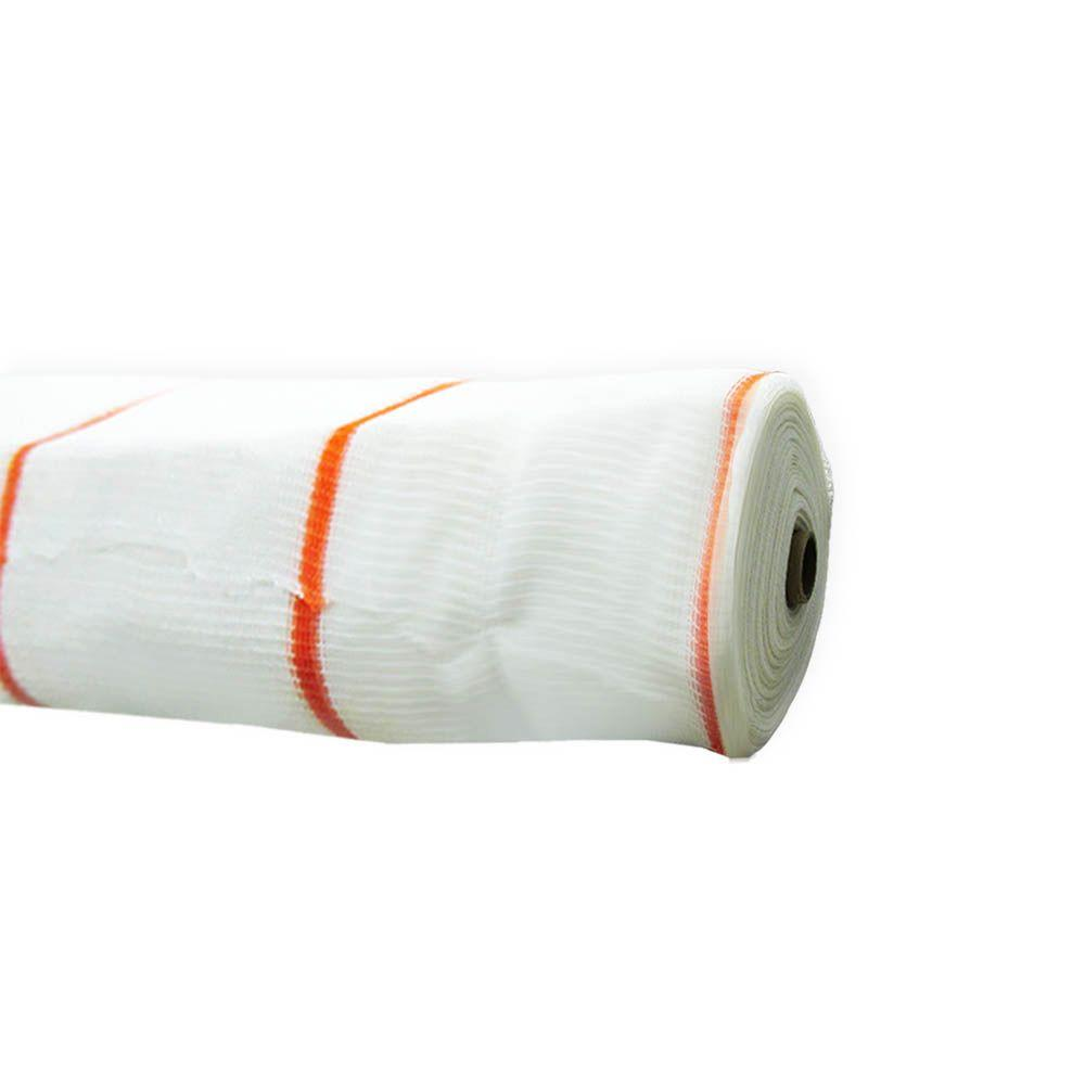 8.6 ft. x 150 ft. Fire Resistant White Debris De Fence