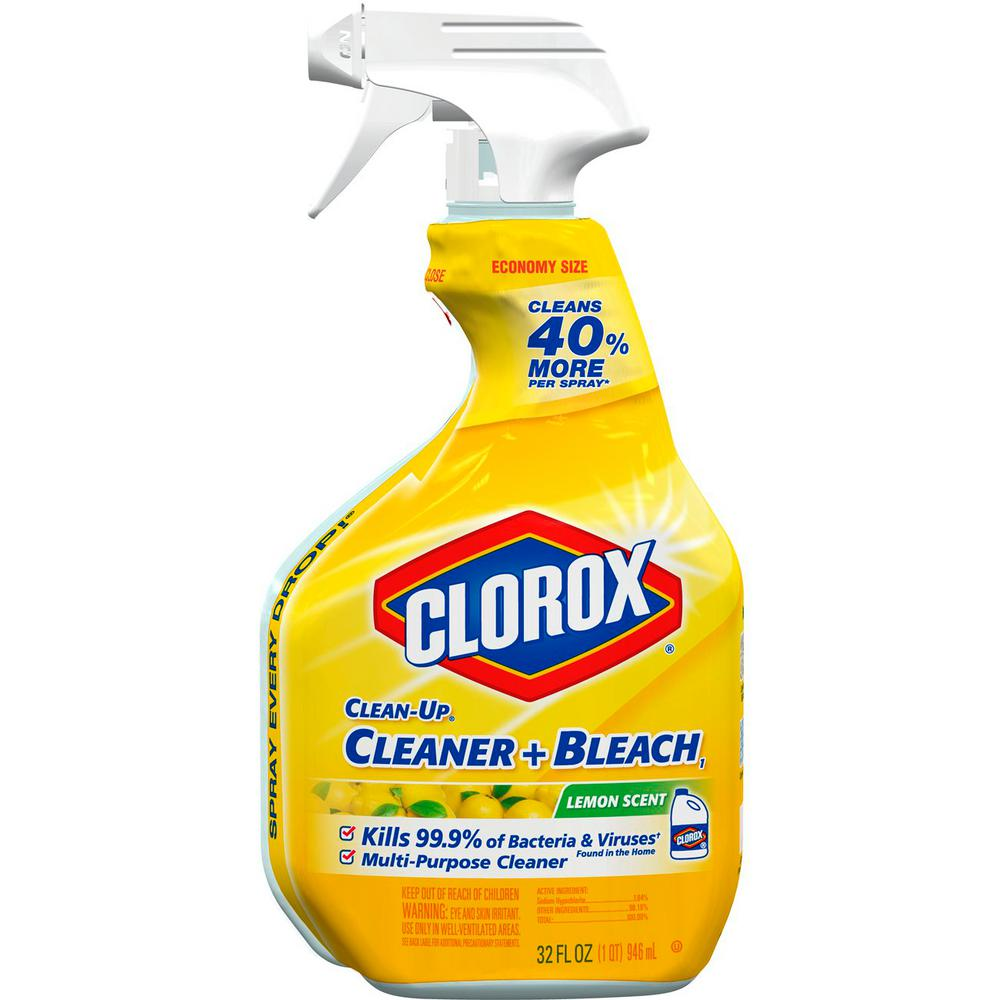 Clean-Up 32 oz. Lemon Scent All-Purpose Cleaner with Bleach Spray
