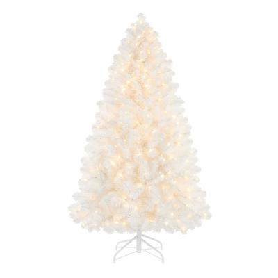 5 ft Uptown Noble Fir LED Pre-Lit Artificial Christmas Tree with 300 Color Changing Micro Dot Lights