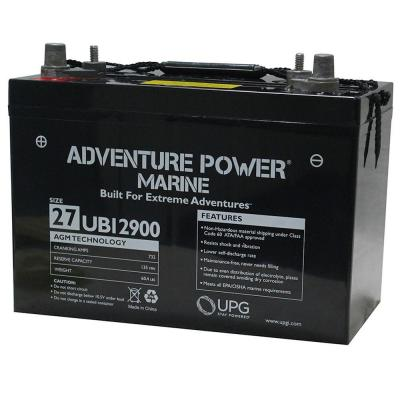 Series 27 12-Volt Sealed Lead Acid (SLA) Rechargeable Marine Post Battery
