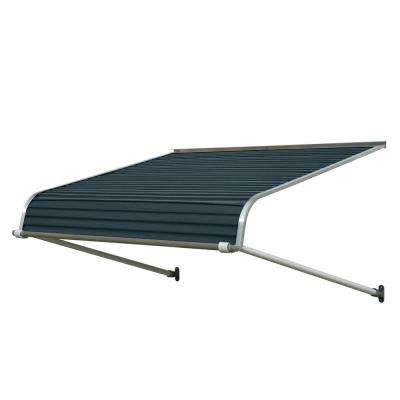 5 ft. 1100 Series Door Canopy Aluminum Awning (12 in. H x 24 in. D) in Bedford Blue