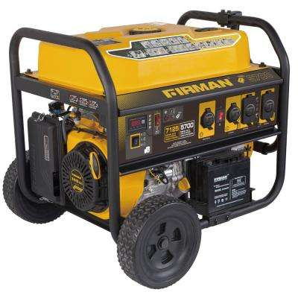 7125/5700-Watt Gas Powered Remote Start Portable Generator