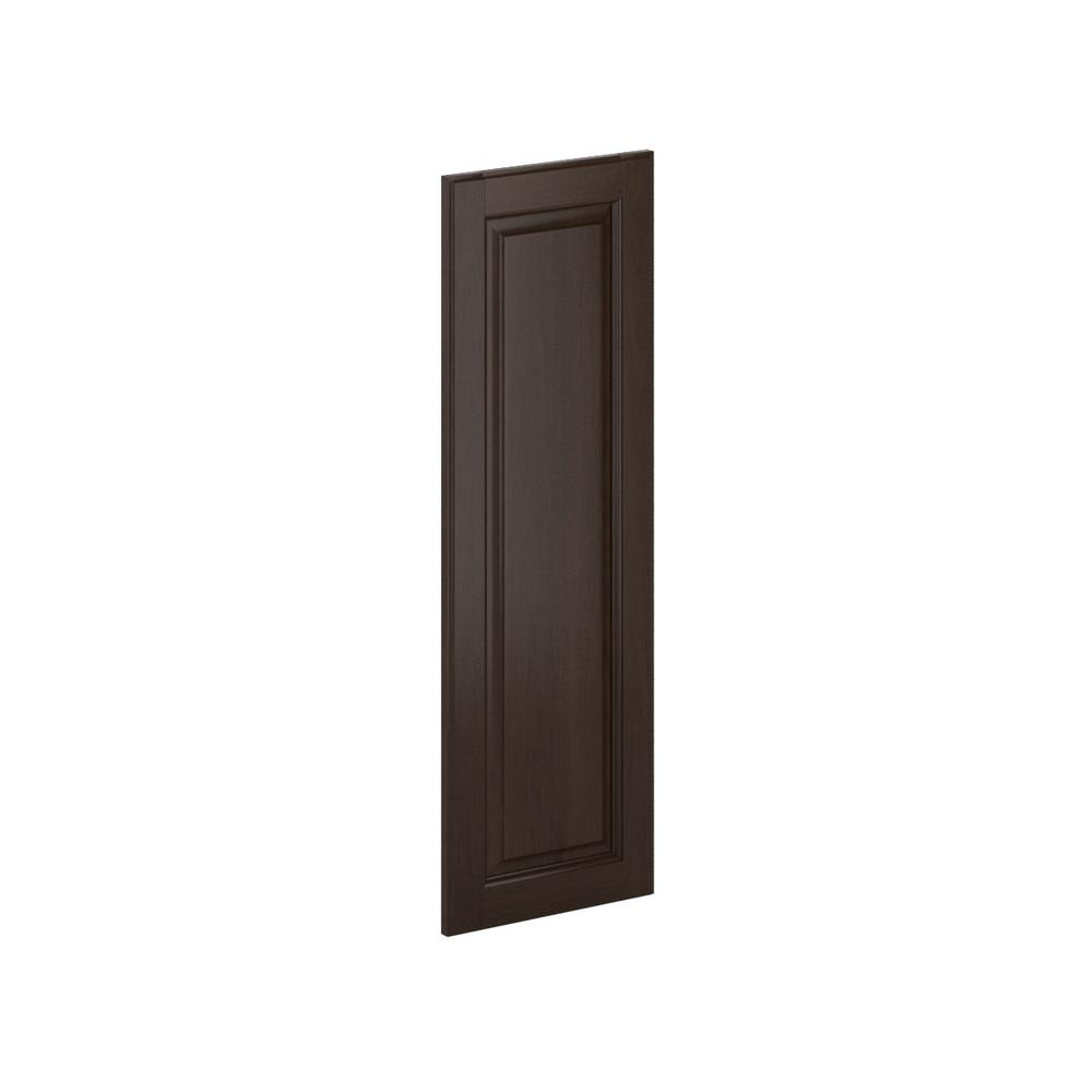 12x36x0.75 in. Madison Wall Deco End Panel in Java