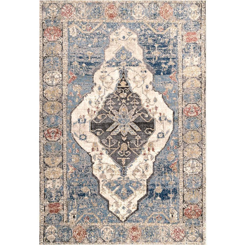 Nuloom Adrian Oriental Persian Blue 8