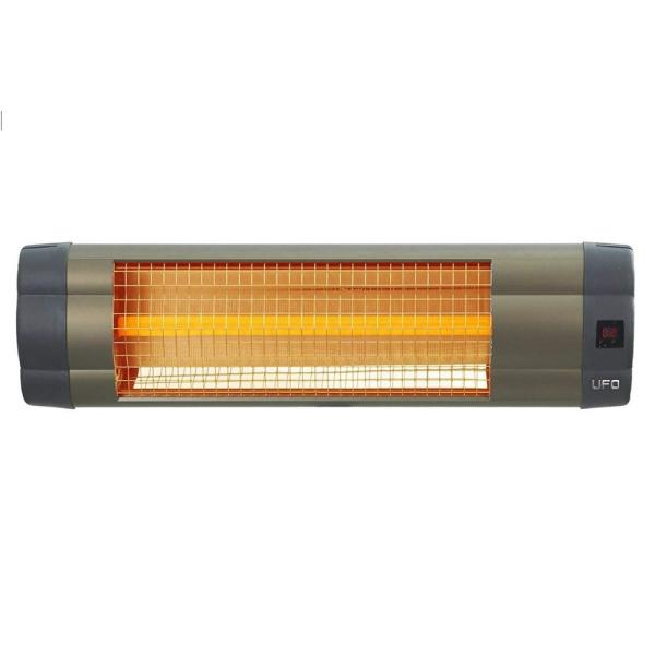 1,500-Watt Electric Infrared Heater with Remote Control