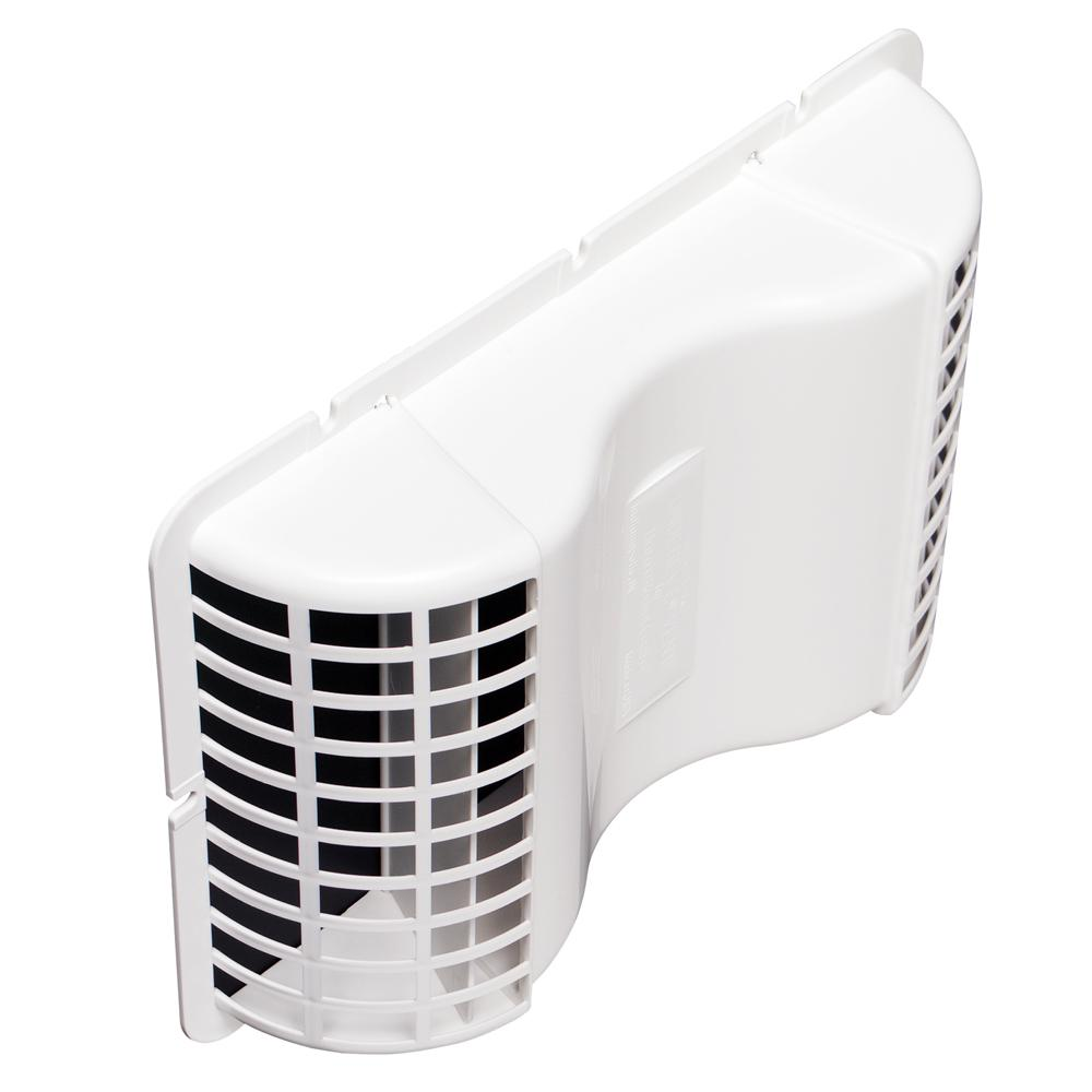 Deflect-o 4 in. x 4 in. Plastic Under Eave Vent