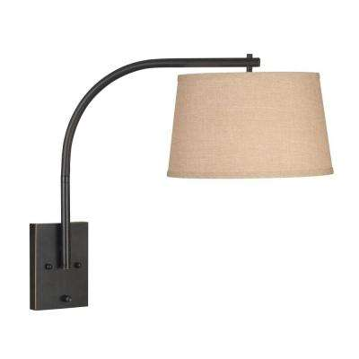 Bronze Sweep Wall Swing Arm Lamp