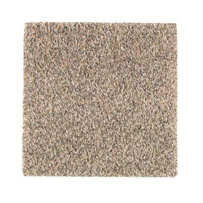 Carpet Sample - Maisie II - Color Scotch Tweed Texture 8 in. x 8 in.