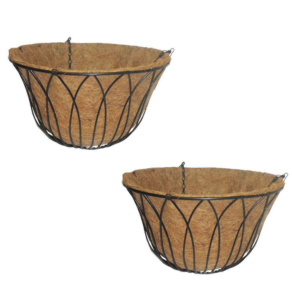 Better-Gro 14 in. Petal Basket (2-Pack)-DISCONTINUED