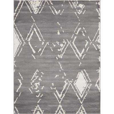Uptown Collection by Jill Zarin™ Carnegie Hill Gray 8' 0 x 10' 0 Area Rug