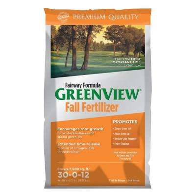 25 lb. Fairway Formula Fall Fertilizer