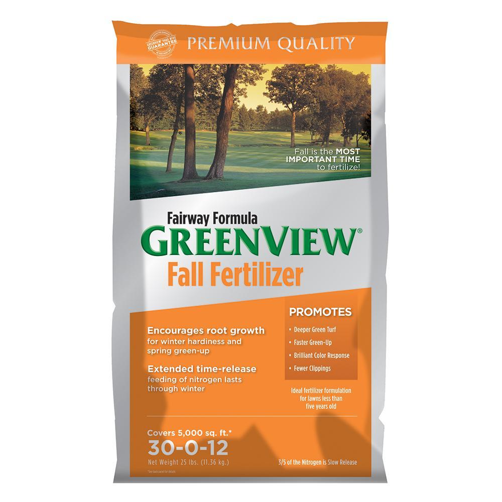 25 lb. Fairway Formula Fall Fertilizer