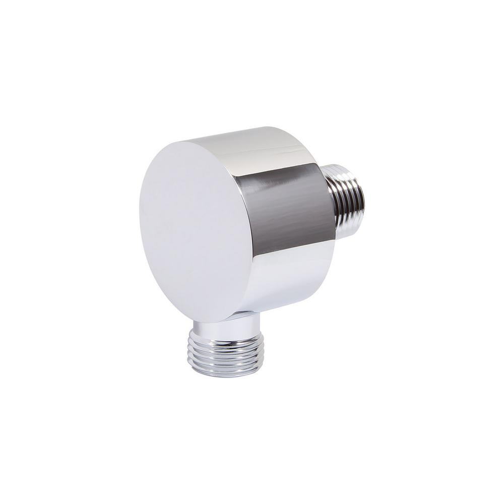 Wall-Mount Hand Shower Supply Elbow in Polished Chrome