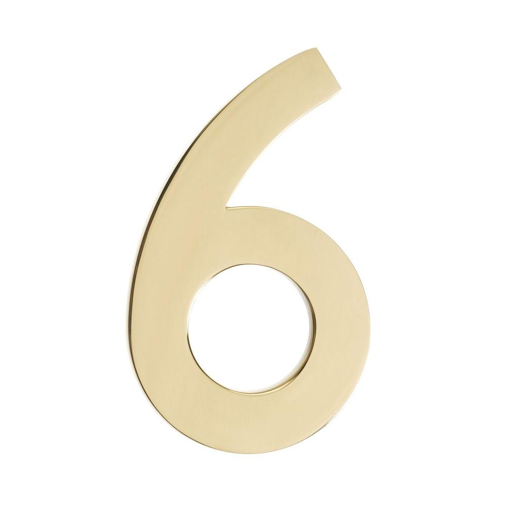 Floating House Numbers And Letters