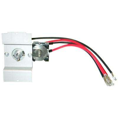 Perfectoe Series UC White Double-Pole Integral 22 Amp Thermostat Kit